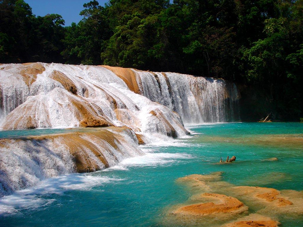 Cascada Azul Chiapas