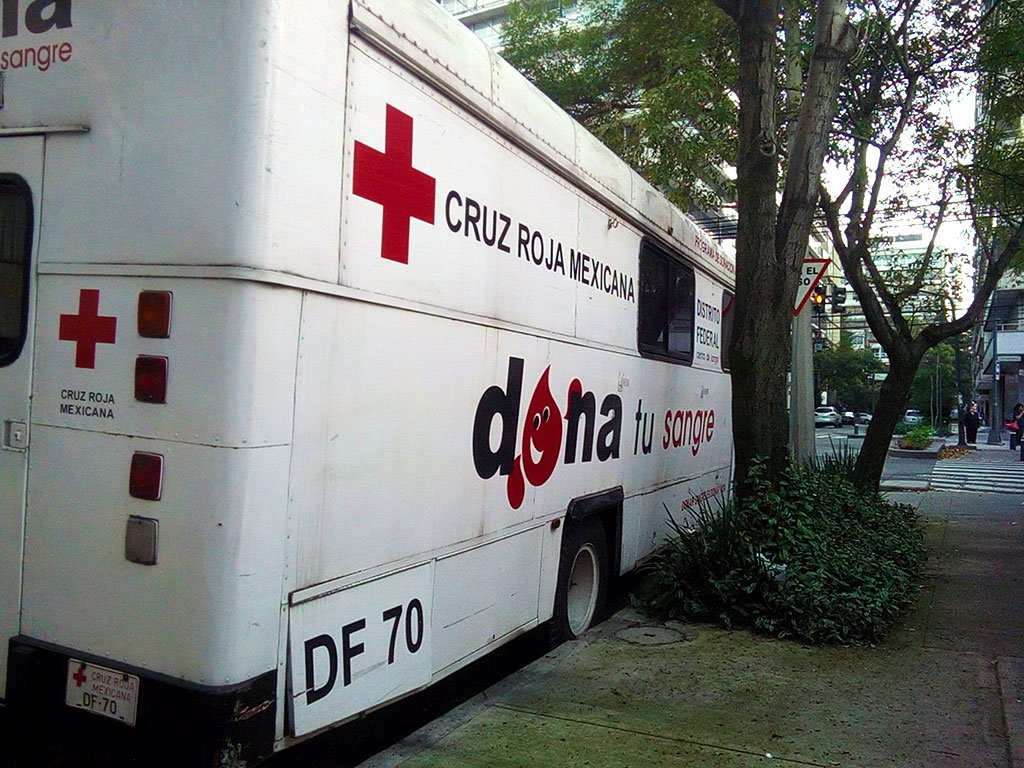 Donación de sangre en Ciudad de México 2