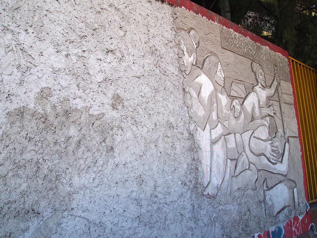 Mural Esgrafiado