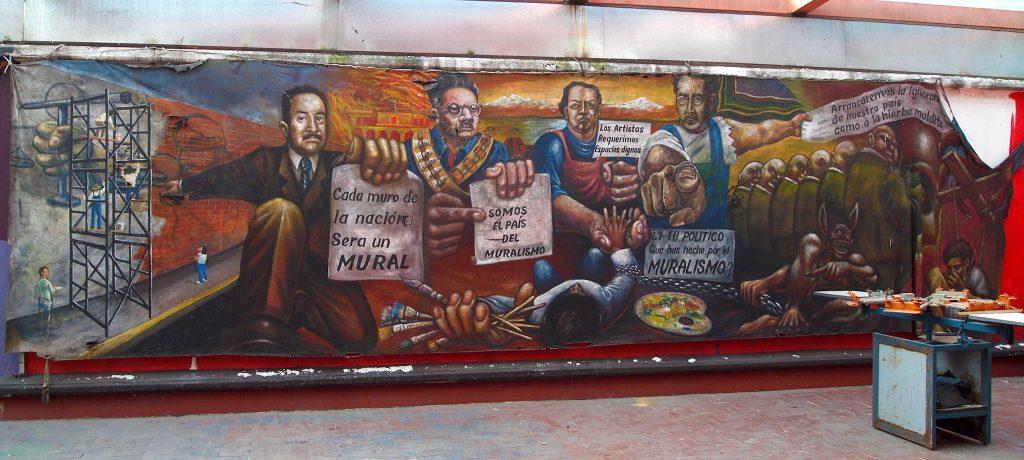 Mural Homenaje Muralismo